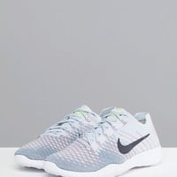 Nike Training Tr Flyknit Trainers In Grey And Mint at asos.com