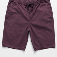 Bullhead Denim Co. Burgundy Overdyed Jogger Shorts at PacSun.com