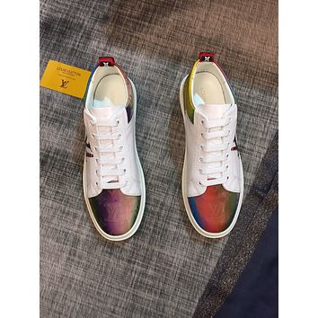 lv louis vuitton womans mens 2020 new fashion casual shoes sneaker sport running shoes 133