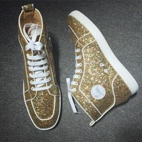 ONETOW Cl Christian Louboutin Style #2283 Sneakers Fashion Shoes