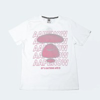 Cheap Women's and men's aape t shirt for sale 501965868-044