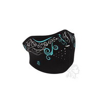 Half Mask, Neoprene, Glow in the Dark, Venetian