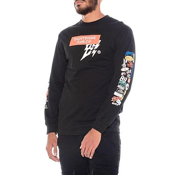Garage Built 2.0 Long Sleeve Tee Black