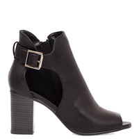 Truth Be Told Booties - Black