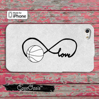 Basketball Love Infinity Symbol Tumblr Cute iPhone 4 and 4s Case and iPhone 5 and 5s and 5c Case Wallet Style Case and iPhone 6 and 6 plus