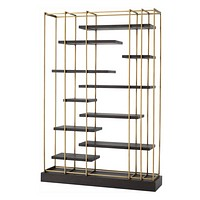 Brass Display Cabinet | Eichholtz Ward