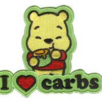 Disney Cuties Iron-on Patch - I Love Carbs