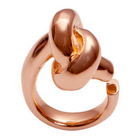 Jennifer Fisher: Large Knot - Designer Rose Gold Ring - YLANG 23 - Ylang 23