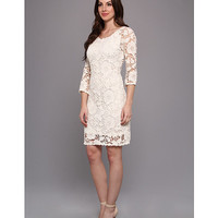 Velvet by Graham and Spencer Leslea02 Dress White - Zappos.com Free Shipping BOTH Ways