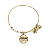Alex and Ani Young And Strong Charm Bangle - Russian Gold