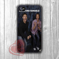 Supernatural Winchester funny pose - 4n for iPhone 4/4S/5/5S/5C/6/ 6+,samsung S3/S4/S5,samsung note 3/4