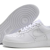 Nike Air Force 1 White For Women Men Running Sport Casual Shoes Sneakers