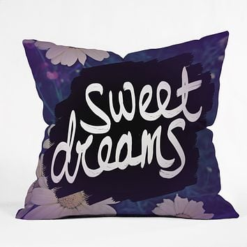 Leah Flores Sweet Dreams 1 Throw Pillow