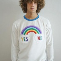 Sweatshirt Yes No White • PAY'S • Tictail