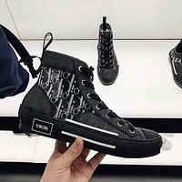 Dior B23 High Mens and Womens Sneakers Shoes-2