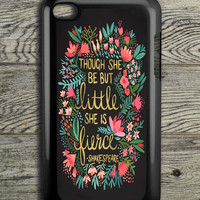 The Little Fierce On Charcoal iPod 4 Touch Case