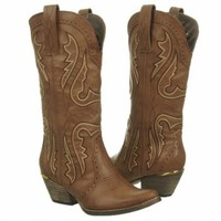 Cowboy Boot with Contrast Stitching
