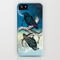Raven's Key Night+Day iPhone Case by Rachel Caldwell | Society6