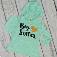 Big Sister Shirt Sibling Big Sister Hoodie Little Sister Shirts Big Sister Announcement Shirt Pregnancy Baby Announcement Shirt 037