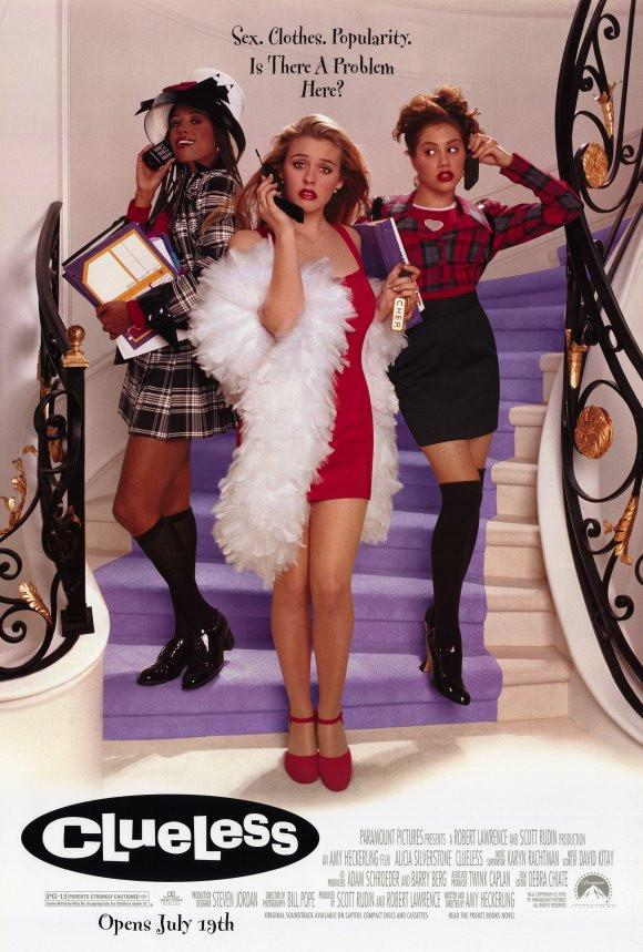 Image of Clueless 11x17 Movie Poster (1995)