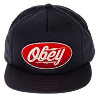 The Gasoline Snapback in Navy