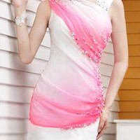 Pink Caris Short dresses from shoplayla