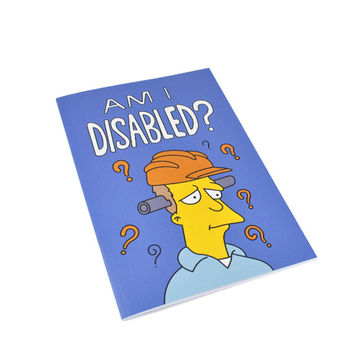 Am I Disabled Notebook