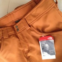 New The North Face Womens Farrows Apex Ski Snow SS Pants $149  large Adobe Brown