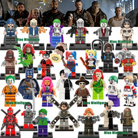 New Minifigures Single Sale Marvel DC Super Heroes Avengers Batman Building Blocks Model Kids Toys Gifts Compatible with Lego