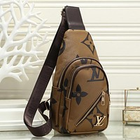 Women Fashion Leather Crossbody Chest Bag Satchel