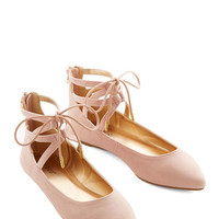 ModCloth Darling Refined Stride Flat
