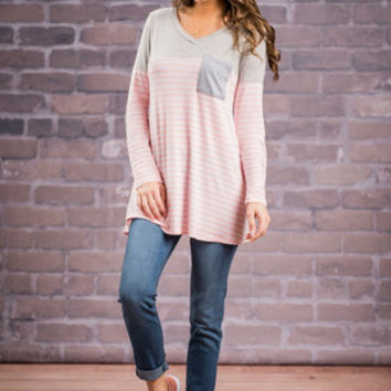 If I Could Tunic, Pink