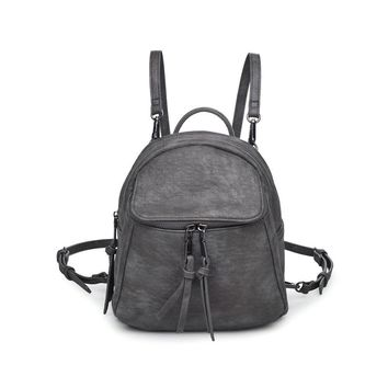 Cali Backpack in Gun Metal Grey