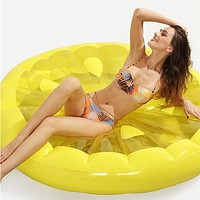 Watermelon Inflatable Pool Floats PVC Durable Inflatable Swimming Water Sports for Adults 143*143*20 cm