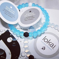 Free Shipping Fashion New arrival Unisex High quality find your balance  shark lokai bracelets in cheap price