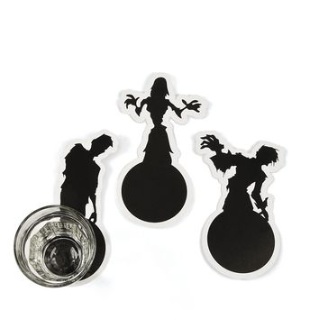 zombie shadow coasters Case of 336