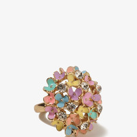 Sparkling Bouquet Ring