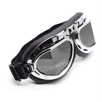 Aviator Goggles with Smoke Lenses | Cyber Rave Burner Goggles at RaveReady