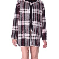 Check Point Sweater Coat