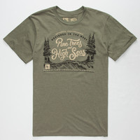 HIPPYTREE Current Mens T-Shirt | Graphic Tees