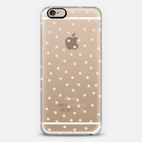 Pale Pink Polka Dot iPhone 6 case by Pencil Me In   Casetify