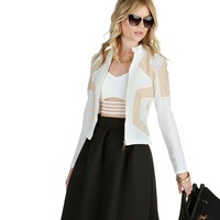 The White Show You Off Jacket