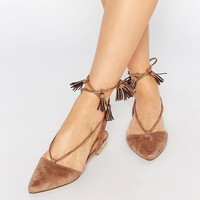 Truffle Collection Edlyn Tie Up Flat Shoes