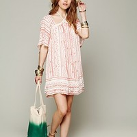Free People FP New Romantics Paisley Punch Dress