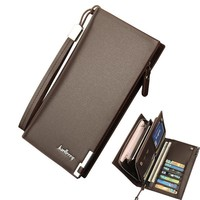 Men's Wallets Solid PU Leather Cash