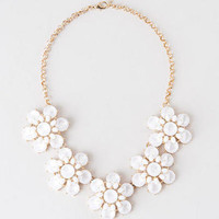 SPRINGHILL FLORAL NECKLACE