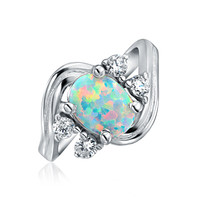 Bling Jewelry Vintage Opal Ring