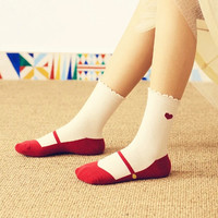 Mary Jane Style Women Socks