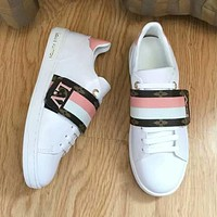 LV Louis Vuitton Old Skool Women Fashion Sneakers Sport Shoes