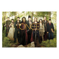 Once Upon A Time Group Poster